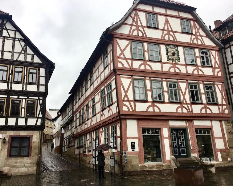 Schmalkalden Thüringen Lutherhaus am Lutherplatz