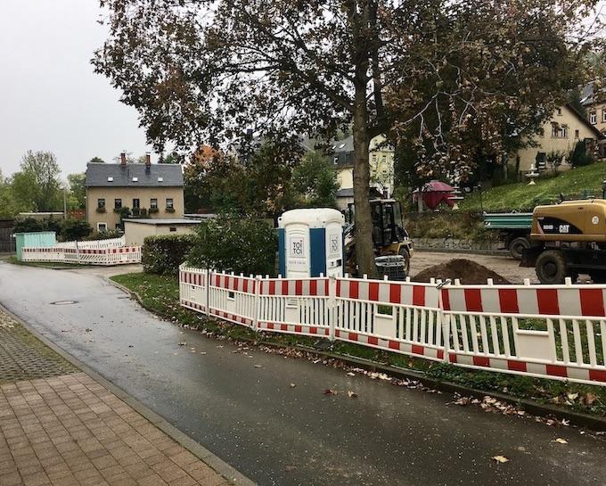 Schwarzenberg: Erzgeb. Umbau des Wohnmobil-Stellplatz