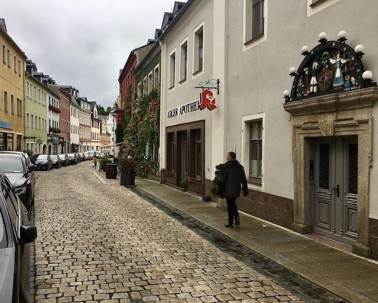 Schwarzenberg:Erzgeb. in der Oberen Schlossstraße