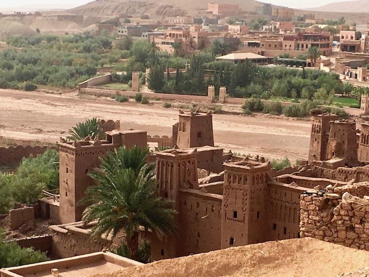 Ait Ben Haddou Kasbah UNESCO-Weltkulturerbe Ksar Quarzazate Marokko