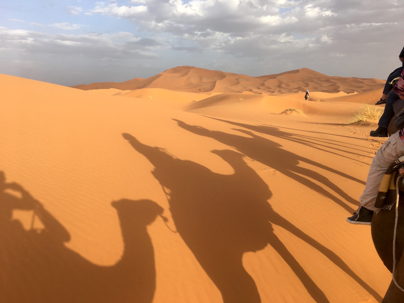 Merzouga Dünen Erg-Chebbi Wüstentour Sahara Wüste Marokko