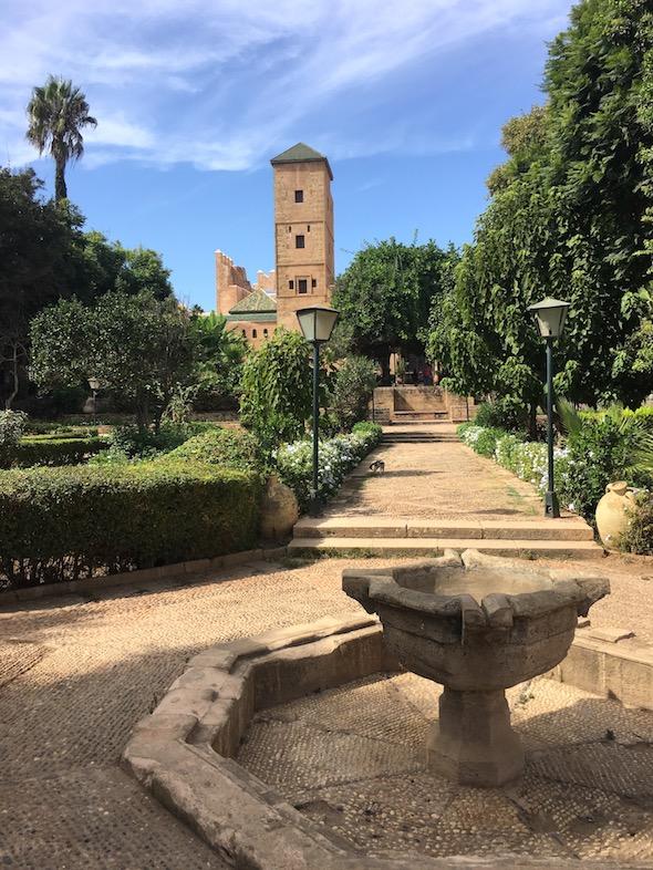 Rabat Kasbah des Oudaias Andalusischer Garten UNESCO-Weltkulturerbe Marokko