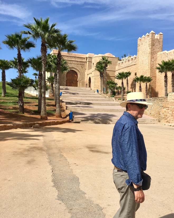 Rabat Kasbah des Oudaias UNESCO-Weltkulturerbe Festung am Atlantik in Marokko