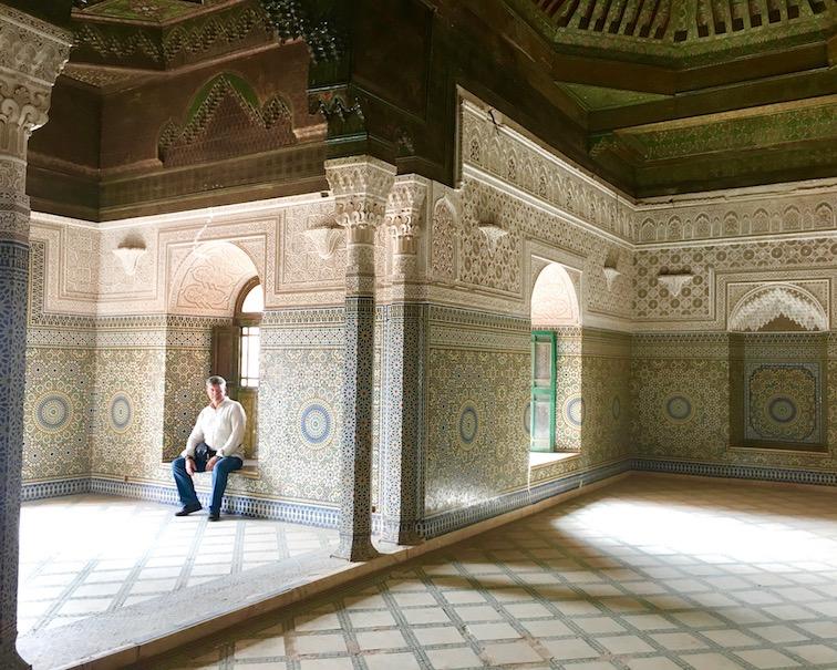 Telouet Kasbah Telouet Kasbah du Pacha el Glaoui Innen Marokko