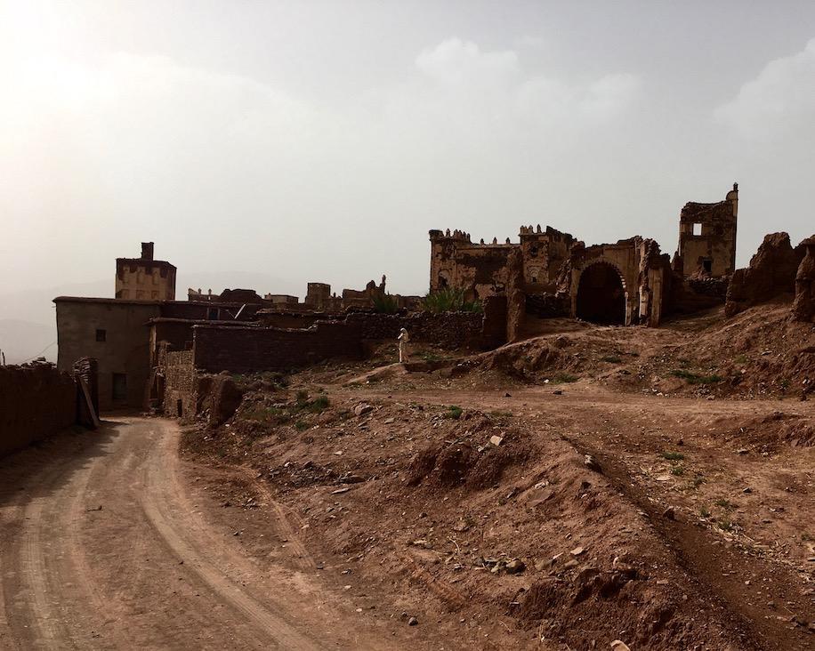 Telouet Glaoui-Kasbah Kasbah von Telouet Außenansicht Kasbah du Pacha el Glaoui Marokko