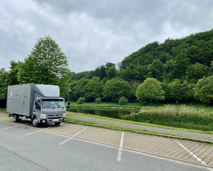 Bad Karlshafen Weser-Therme mit mole-on-tour