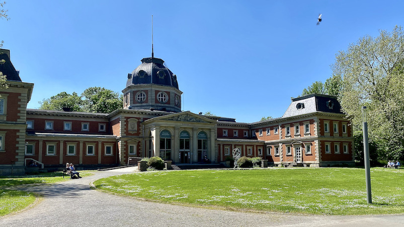 Bad Oeynhausen Historisches Badehaus II Kurpark Bad Oeynhausen