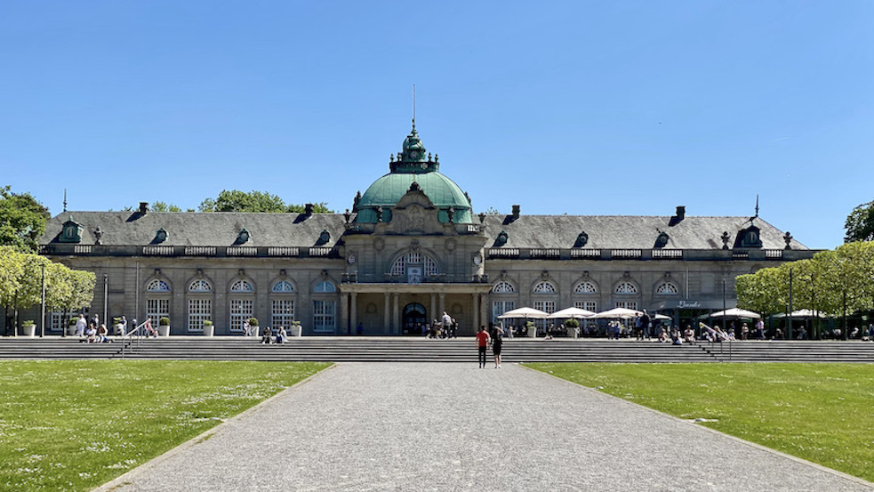 Bad Oeynhausen Kaiserpalais Historisches Kurhaus Kurpark