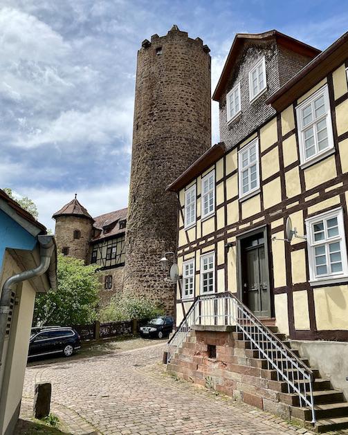 Burgenstadt Schlitz Der Hinterturm Bergfried Schlitz Hessen