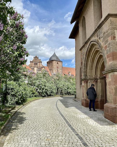 Burgenstadt Schlitz Eingang Stadtkirche Sankt Margarete Vorderburg Schlitz Hessen