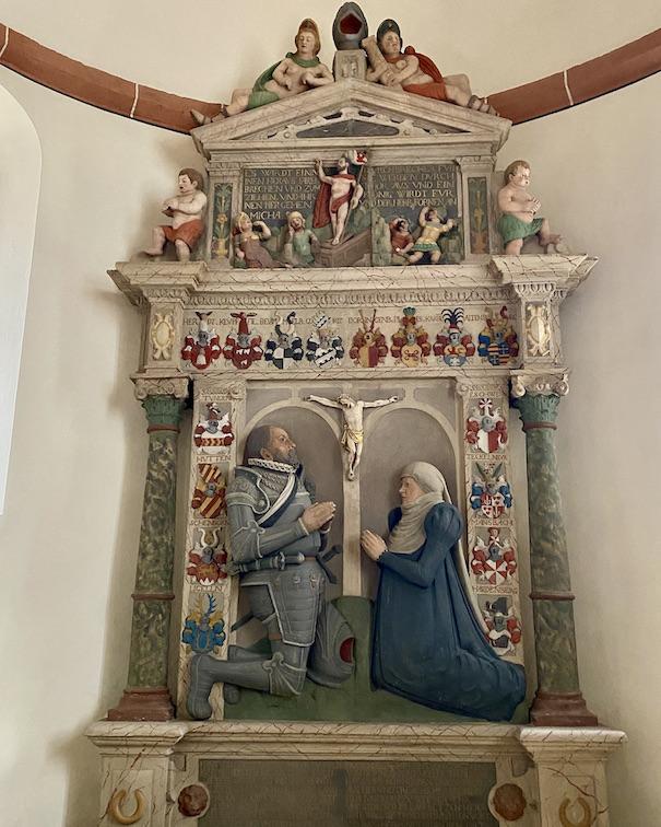 Burgenstadt Schlitz Stadtkirche Altar Epitaphien