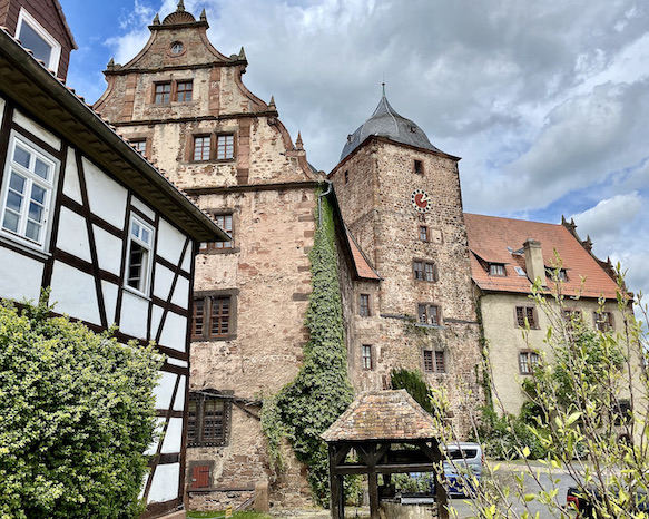 Burgenstadt Schlitz Vorderburg und Vorderburgbrunnen Heimatmuseum Schlitz Hessen