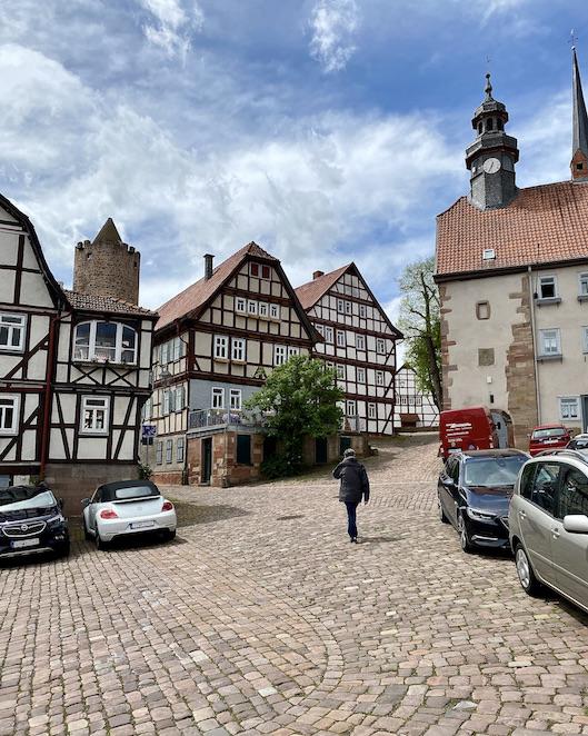 Burgenstadt Schlitz zum Bergfried Schlitz Hessen