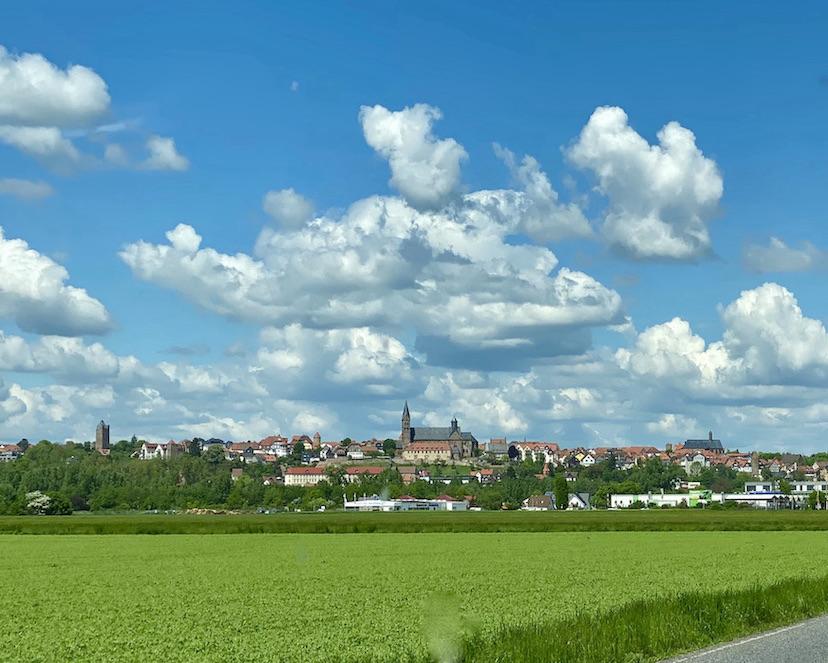 Fritzlar Dom- und Kaiserstadt Fritzlar Hessen Deutschland