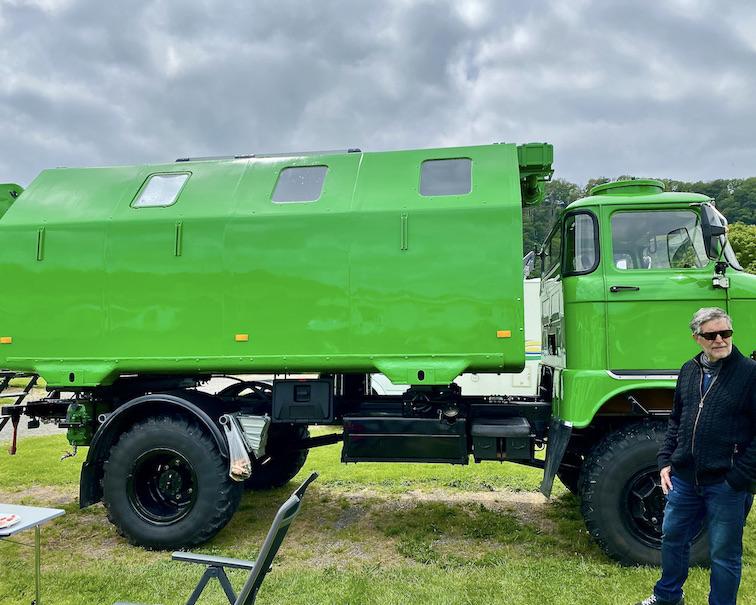 Wohnmobil NVA-Shelter Allrad-LKW restauriert