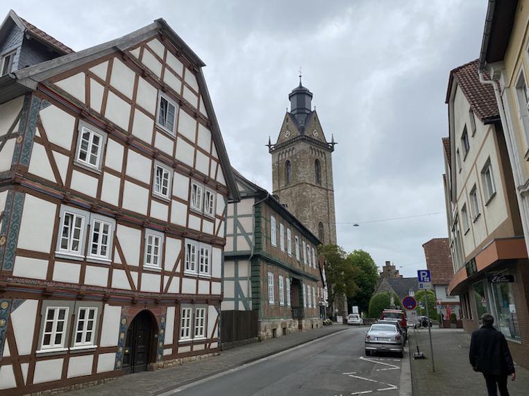 Korbach Jüngste Hansestadt Deutschlands in Hessen Kirche St. Kilian Historische Altstadt