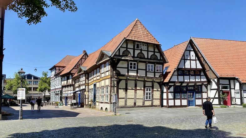 Nienburg Spargelstadt an der Weser Sehenswürdigkeiten Historische Altstadt Fachwerkhäuser