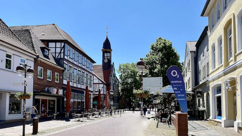 Nienburg Spargelstadt an der Weser Sehenswürdigkeiten Historische Altstadt Rathausturm