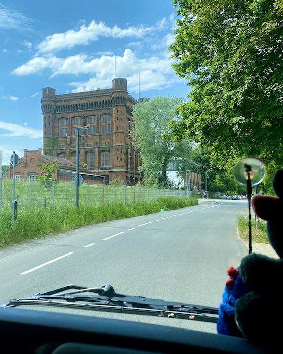 Pumpenhaus Bremen Wasserturm Historisches Pumpwerk umgedrehte Kommode