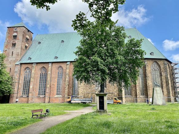 Verden an der Aller Altstadt Dom St.Maria und Cäcilia Außenansicht