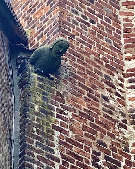 Verden an der Aller Altstadt Dom St.Maria und Cäcilia Der Steinerne Mann