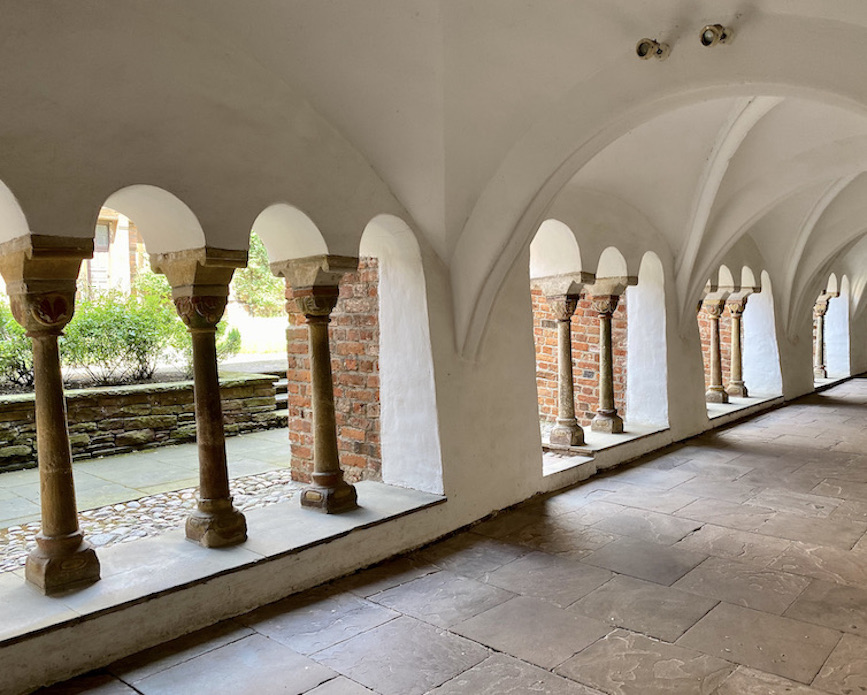 Verden an der Aller Altstadt Dom St.Maria und Cäcilia Kreuzgang