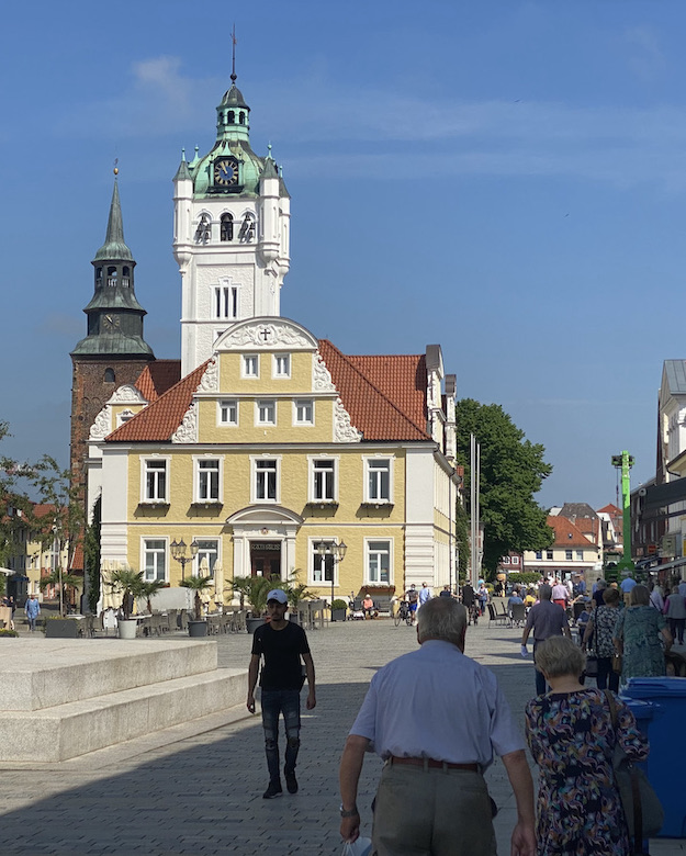Verden an der Aller Altstadt Historisches Rathaus Reiterstadt-Verden