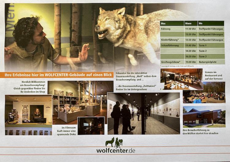 Wolfcenter Dörverden Besucher-Informationen