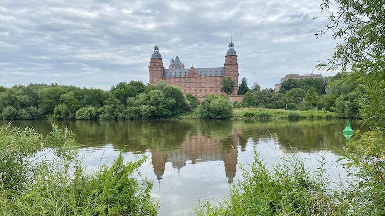 Aschaffenburg Schloss-Johannisburg Deutsche-Renaissance Schlossanlage