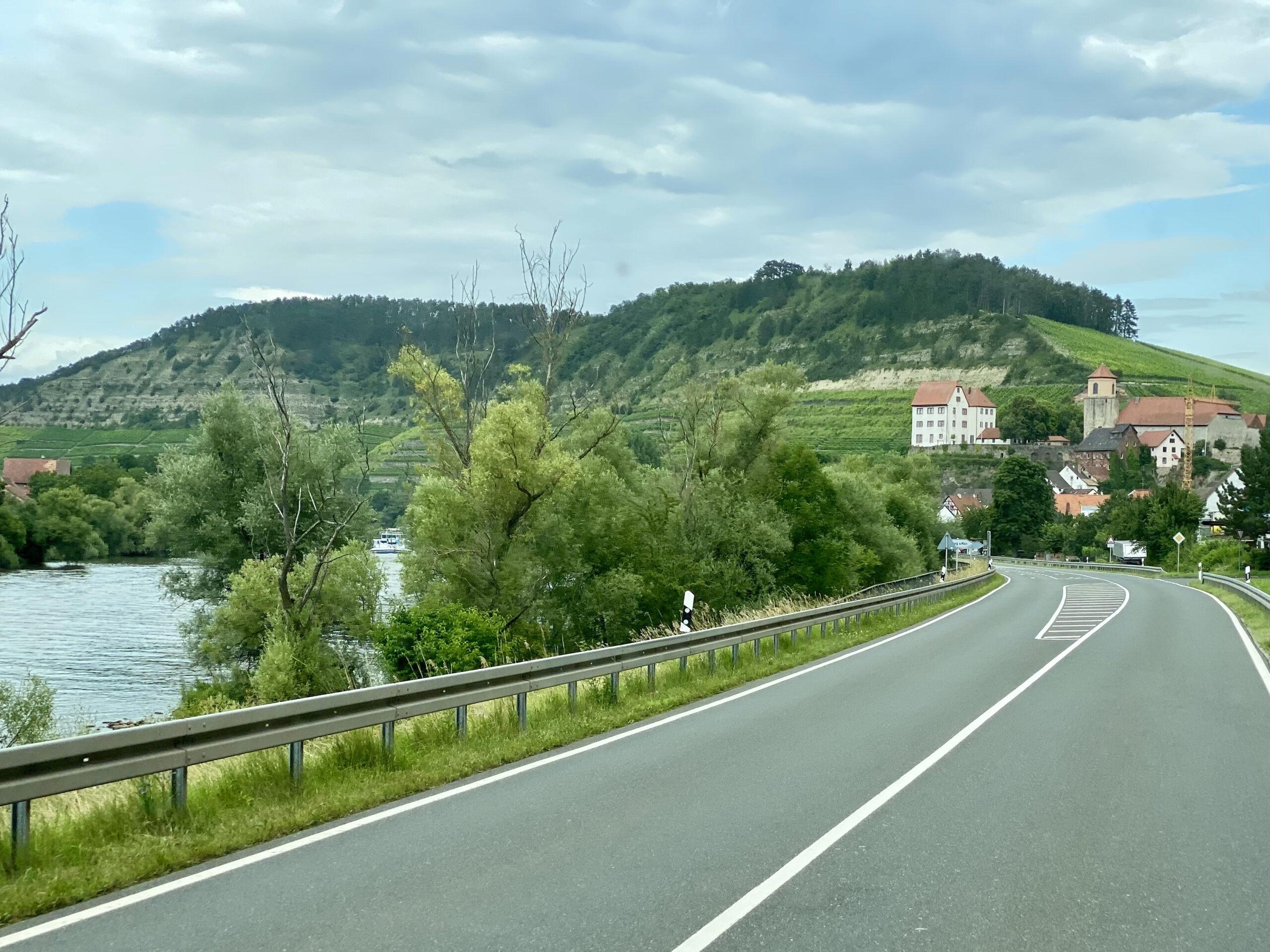 Der Kallmuth am Main Maintrockenhang bei Homburg am Main Weinlage Kallmuth