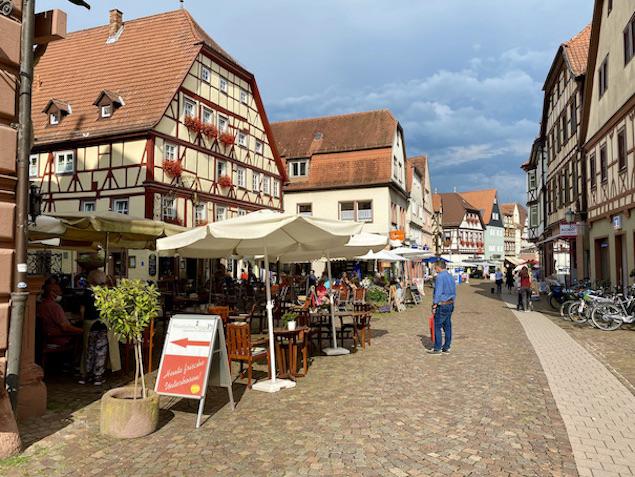 Lohr am Main Historische Altstadt Schneewittchenstadt Sehenswürdigkeiten Fußgängerzone