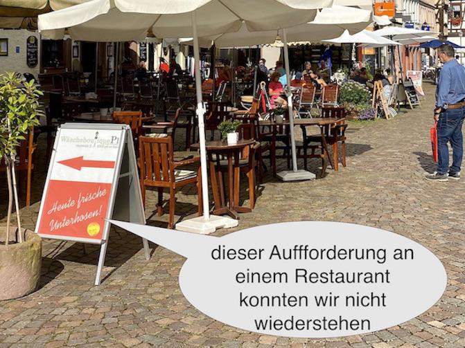 Lohr am Main Historische Altstadt Schneewittchenstadt Sehenswürdigkeiten Weinhaus Mehling Detail