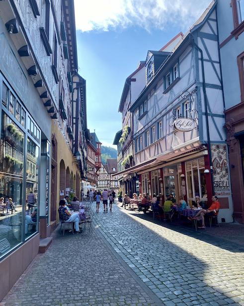 Miltenberg am Main Altstadt Sehenswürdigkeiten Fußgängerzone