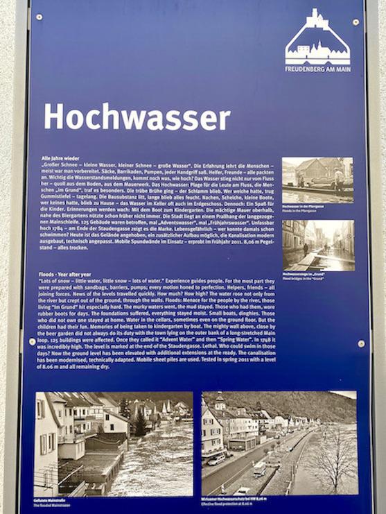 Stadt Freudenberg am Main Hochwasser