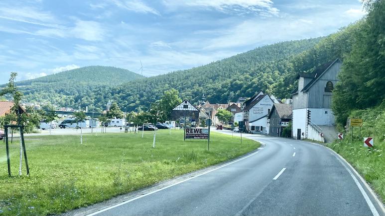 Stadt Freudenberg am Main Wohnmobilstellplatz am Ortsrand
