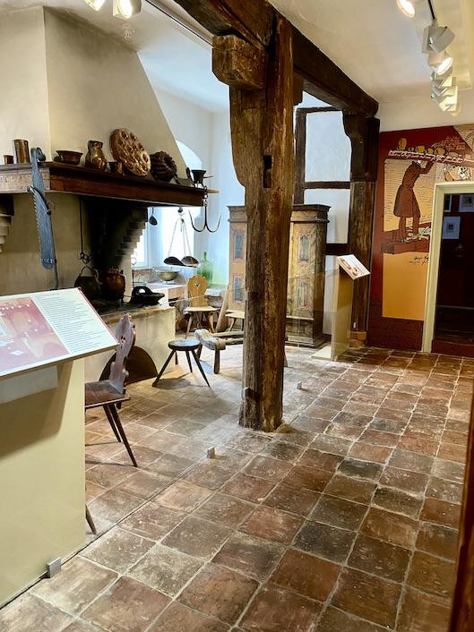 Brüder Grimm Haus Steinau an der Straße Deutsche Märchenstraße Main-Kinzig-Kreis Steinau an der Straße Brüder-Grimm-Haus Amtshaus Märchen-Museum Alte Küche