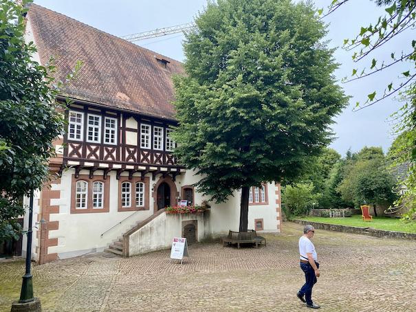 Brüder Grimm Haus Steinau an der Straße Deutsche Märchenstraße Main-Kinzig-Kreis Steinau an der Straße Brüder-Grimm-Haus Amtshaus Märchen-Museum Grimm-Geburtshaus
