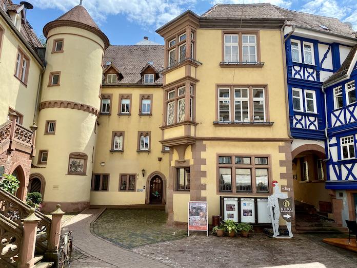 Wertheim am Main Grafschaftsmuseum und Blaues Haus Historische Altstadt