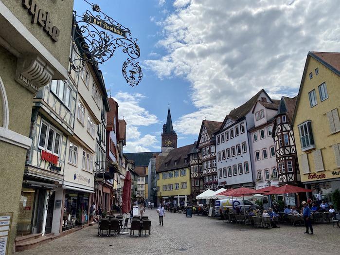 Wertheim am Main Historischer Marktplatz Historische Altstadt