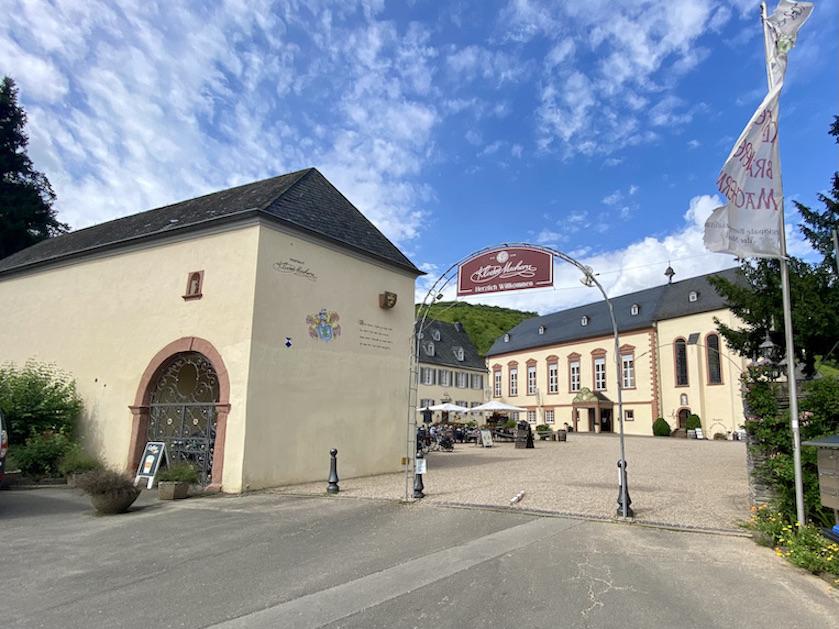 Abtei Kloster Machern Mosel Zeltingen-Rachingen Brauhaus Klosterbrauerei