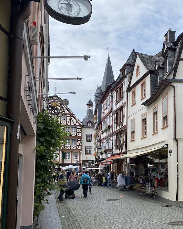 Bernkastel-Kues Fachwerkhäuser in Historischer Altstadt Sehenswürdigkeiten