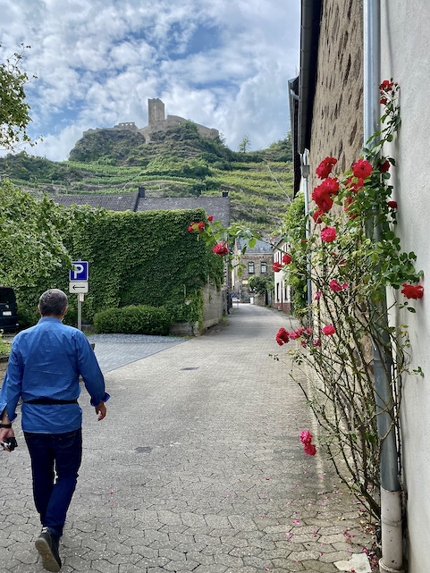 Kobern-Gondorf an der Mosel Niederburg Kobern Rheinland-Pfalz Altstadt