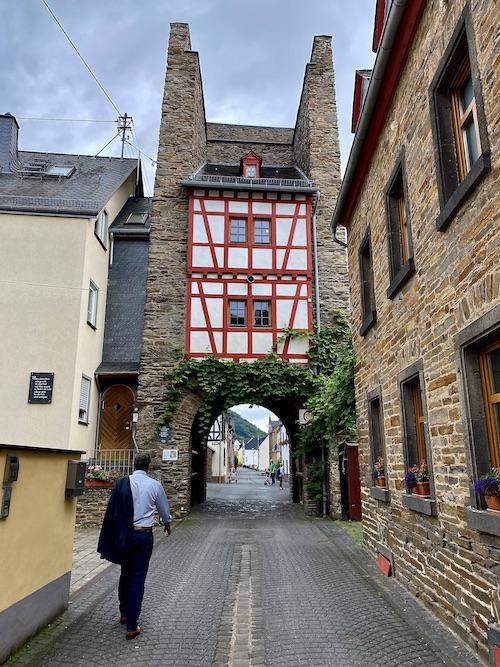 Stadt Alken an der Mosel Fallertor Stadtbefestigung Haupttor Rheinland-Pfalz Deutschland
