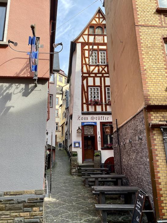 Stadt Cochem an der Mosel Altstadt-Gassen Altstadt Innenstadt