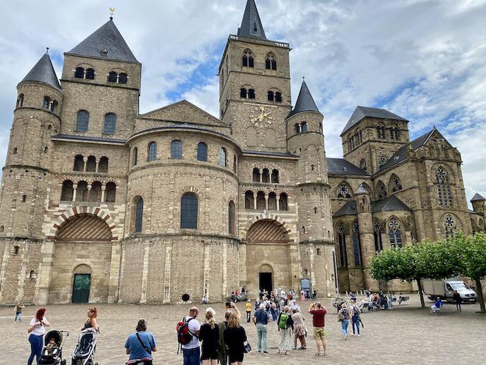 Trier Dom St.Peter zu Trier Bischofskirche und Liebfrauenkirche UNESCO-Weltkulturerbe