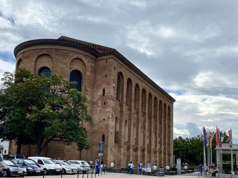Trier Konstantin-Basilika Römische Palastaula UNESCO-Weltkulturerbe