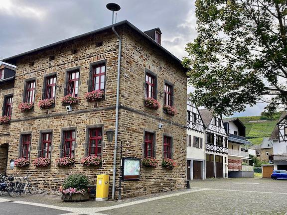 Winningen an der Mosel Ortskern Weindorf