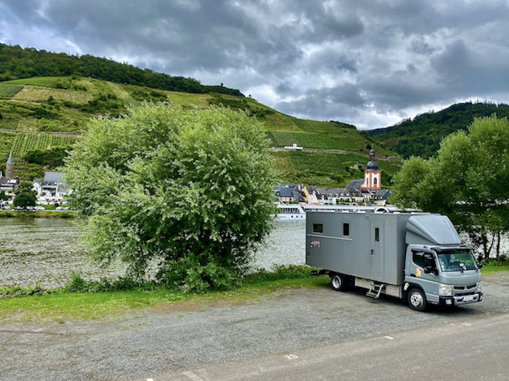 Wohnmobilstellplatz Kaimt:Zell an der Mosel für mole-on-tour